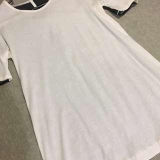 Lululemon Two Tone t-shirt AUS Size 8