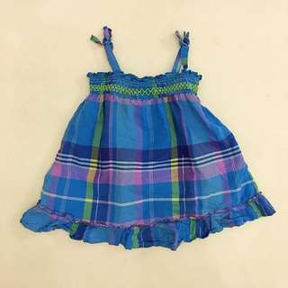 Oshkosh Plaid Baby Dress