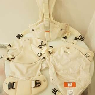 Stokke My Carrier Cool 3 in 1 Limited White Beige Color