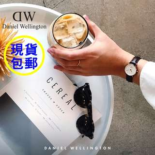 🇺🇸直送 正貨包郵 Daniel Wellington 26mm Classy Sheffield 玫瑰金 皮帶女裝手錶 0901DW / DW00100060 DW錶