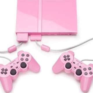Ps2 Pink Limited Edition