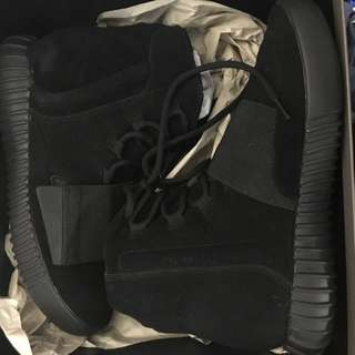 adidas originals yeezy boost 750 triple black uk 6.5 us 7