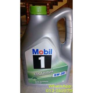 MOBIL 1 Fully Synthetic 5W30 Engine Oil (5litres)