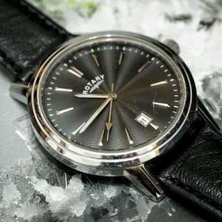 Vintage Rotary Watch with Beautiful Textured Dial