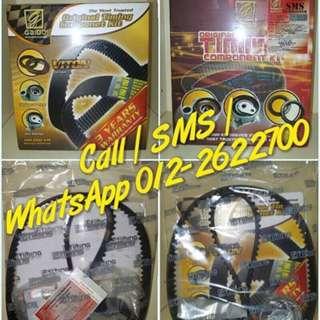 Original Gaido Timing Belt Set (100,000 KM) for Proton / Perodua