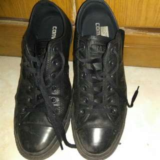 Converse AllStar FullBlack Leather Original