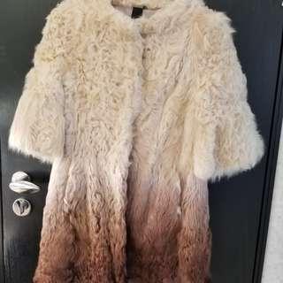 羊皮毛外衣