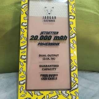 Jaguar 20,000mAh Powerbank