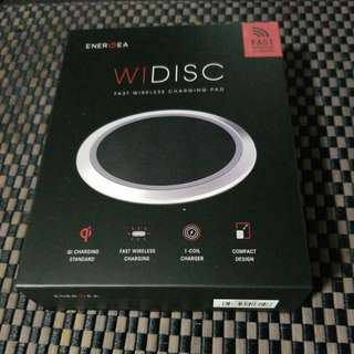 Wireless charging disc