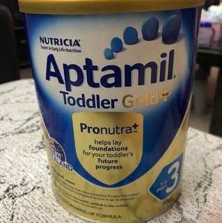 Aptamil toddler gold