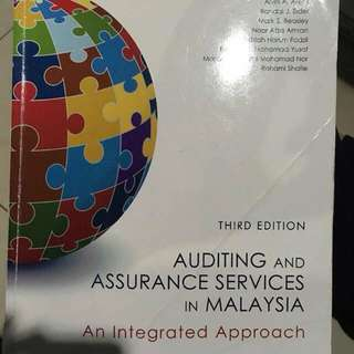 AUDITING & ASSURANCE SERVICES IN MALAYSIA (3rd Edition)