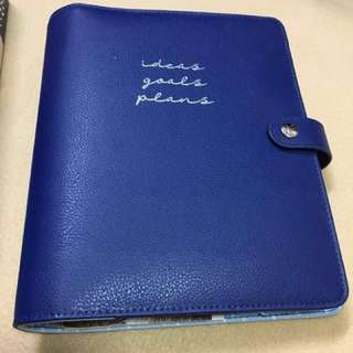 Kikki Medium Leather Personal Planner