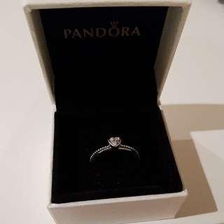 Genuine Pandora Ring Size 54