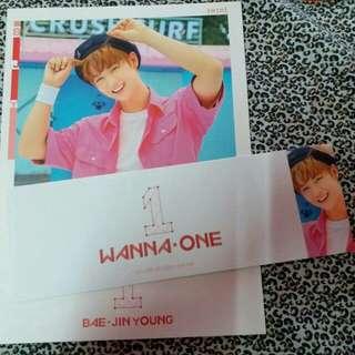 Wanna One Bae JinYoung Cover + Sleeve
