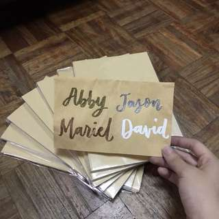 Looking for a last minute gift? Personalized Notebooks with FREE Gift Wrapping