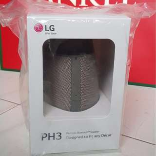 LG PH3 Portable Bluetooth Speaker [New + Sealed]