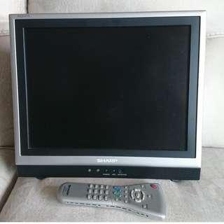 """Sharp 15"""" LCD TV"""