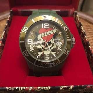 Ed hardy 經典手錶