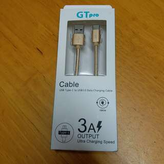 GT Pro USB type C to USB 3.0 Data Charging Cable