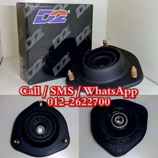 D2 Racing Front Heavy Duty Absorber Bearing Mounting For Proton Satria NEO  / Gen 2 / Persona / Waja
