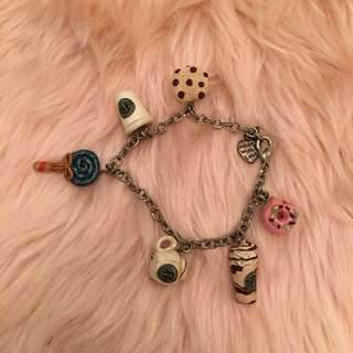 Starbucks Charm Bracelet