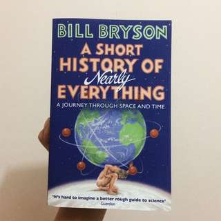 A Short History of Nearly Everything- Bill Bryson