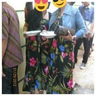 long dress bali