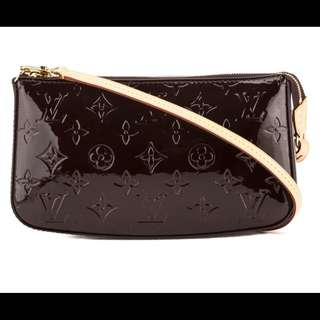 LV LEATHER amarante Monogram Vernis