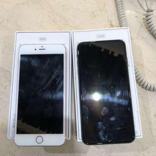 🚚 iPhone plus 6S 64G使用約六成新個人機 售9000  已更新回原廠設定了‼️