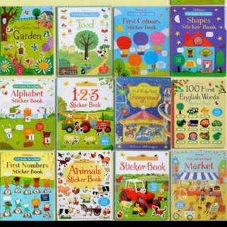 BN Usborne Sticker Book