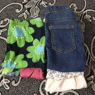5pcs H&M Carters Pants/Legging/Jeans