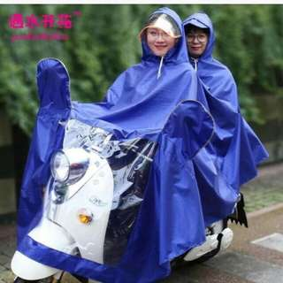 Motorcycle rain coat cover