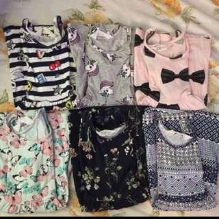 ‼️900 take all 6pcs Authentic H&M Dresses not overrun