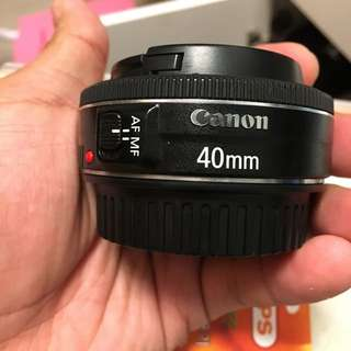 Canon 40mm 2.8 STM