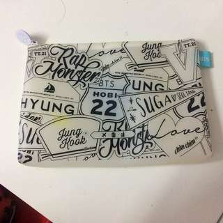 BTS Summer Package pouch
