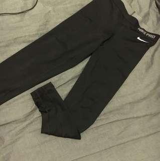 Nike pro tight legging jegging貼身褲 運動 快乾