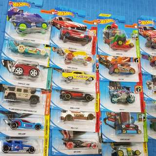 Assorted Hot Wheels Cars included model cars
