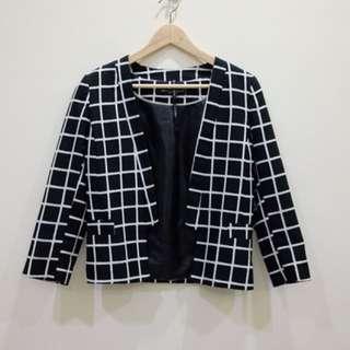 Dorothy perkins - Black and white Blazer