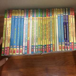 geronimo stilton / thea stilton / creepella books
