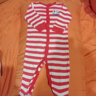 Sleepsuit carters 6m