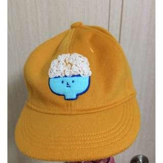 Pinkoi設計師品牌Loopy白米飯羊毛帽子(F)