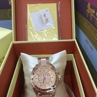 AUTHENTIC COACH WATCHES