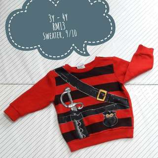kids/boy sweater