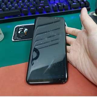 screen crack repair top glass smartphone