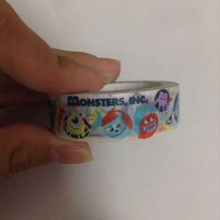 monsters inc. washi tape