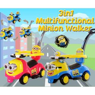 3 in 1 Multifunction New Minion Walker