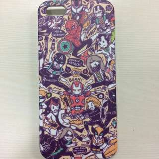 Hardcase i5Phone 5S - Marvel