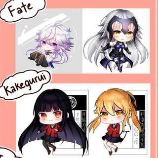 Kakegurui/Fate Charms