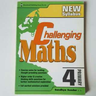 FREE NM📬Primary 4 Challenging Maths Assessment Book