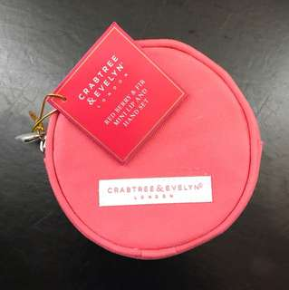 Crabtree & Evelyn lip balm and hand moisturiser